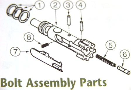7.62x39mm Extractor Assembly