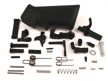 AR15 Lower Parts Set With Pistol Grip