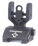 Diamondhead HYBRID Flip-Up Rear Combat Sight