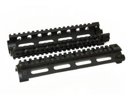 Mid Length 2 Piece Four Rail Handguards
