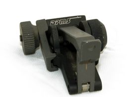 Mangonel Rear Flip Up Sight, detachable
